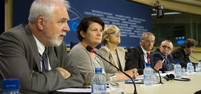 Konferencja prasowa Jana Olbrychta w PE