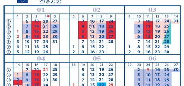 Plan zajęć Jana Olbrychta (13-17 stycznia 2014)