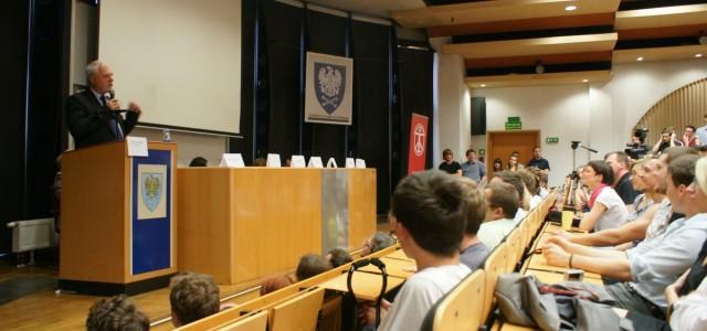 Debata kandydatów na Uniwersytecie Śląskim