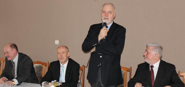 Spotkanie z samorządowcami w Orzeszu