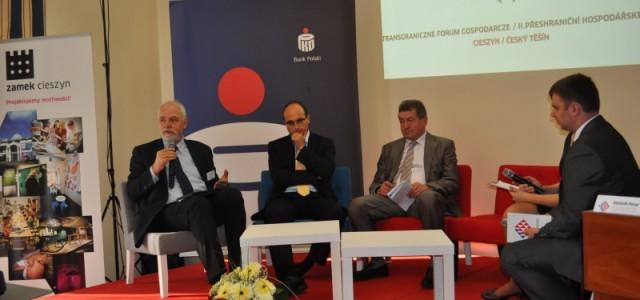 II Transgraniczne Forum Gospodarcze w Cieszynie