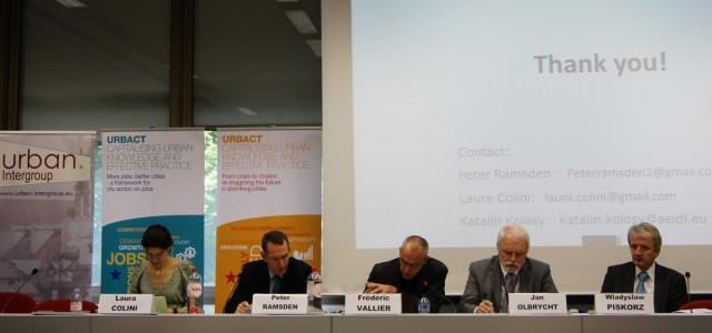Jan Olbrycht przewodniczył konferencji Intergrupy URBAN i DG REGIO