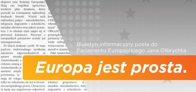 """Wrześniowy numer biuletynu """"Europa jest prosta."""""""