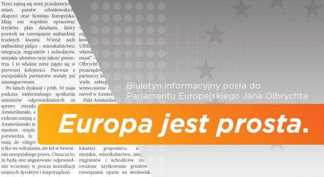 """Lipcowe wydanie biuletynu """"Europa jest prosta."""""""