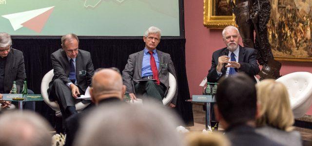"""IX Konferencja Krakowska – panel """"Co dalej z Europą? Zagrożenia i perspektywy."""""""
