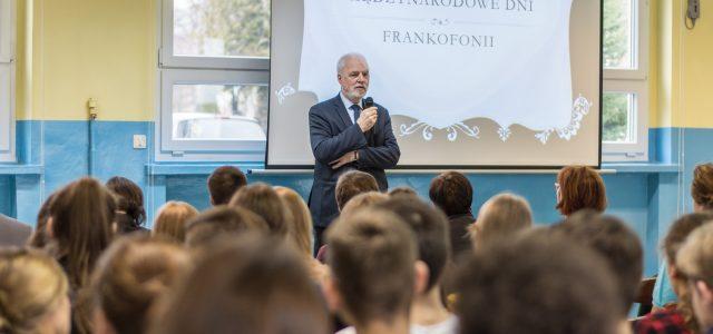 Wykład dla uczniów Liceum Ogólnokształcącego im. Mikołaja Kopernika w Katowicach