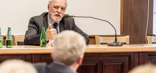 Jan Olbrycht gościem Klubu Obywatelskiego w Pszczynie