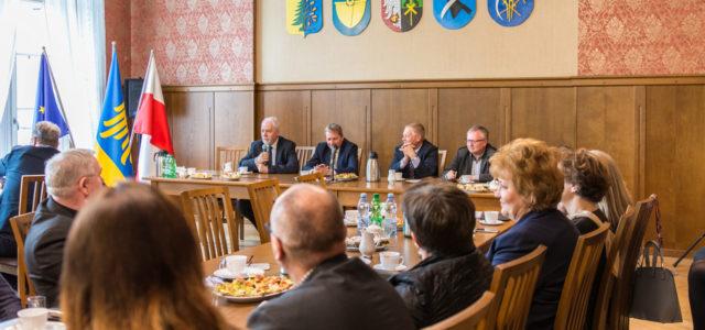 Spotkanie z samorządowcami Subregionu Zachodniego Województwa Śląskiego