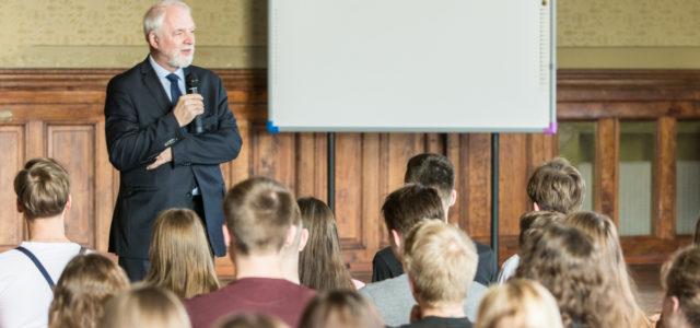 Spotkanie z uczniami LO im. Adama Mickiewicza w Katowicach