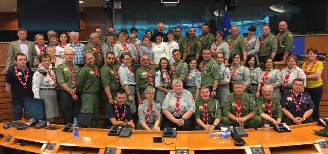 Goście ze Śląska w Parlamencie Europejskim w Brukseli