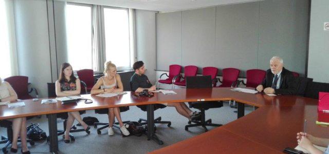 Rozmowa o miastach ze studentami z Poznania