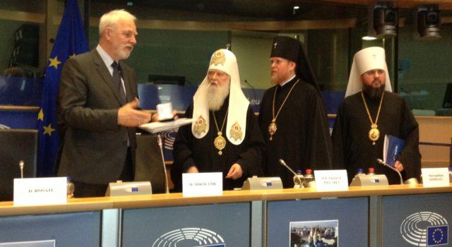 Dialog międzyreligijny: Jan Olbrycht otrzymał Order Świętego Włodzimierza