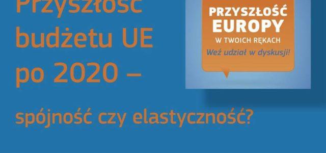 """Jan Olbrycht: """"Przyszłość budżetu UE po 2020 – spójność czy elastyczność?"""" – zapisy na konferencję w Krakowie"""