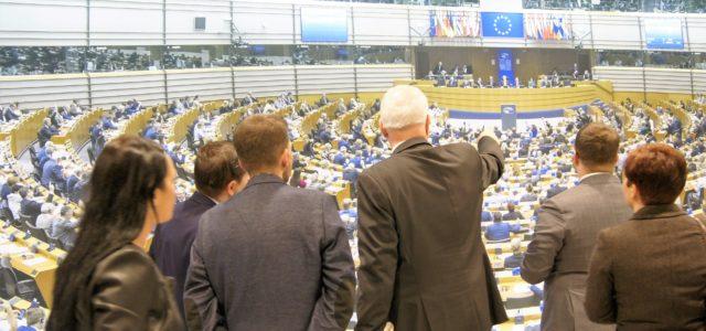 Poznaj swojego Europosła: samorządowcy ze Śląska z wizytą w Brukseli