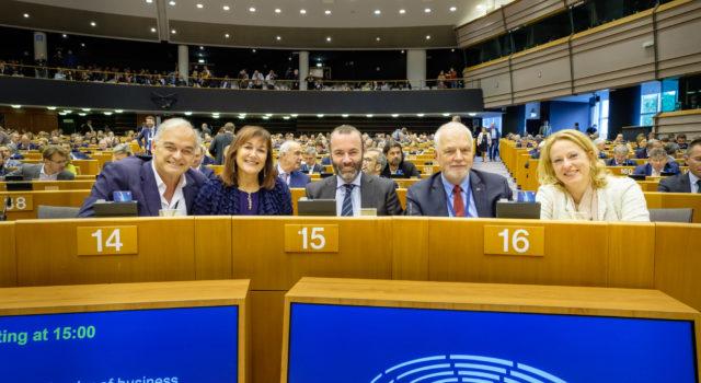 Listopad na sali plenarnej w Strasbourgu