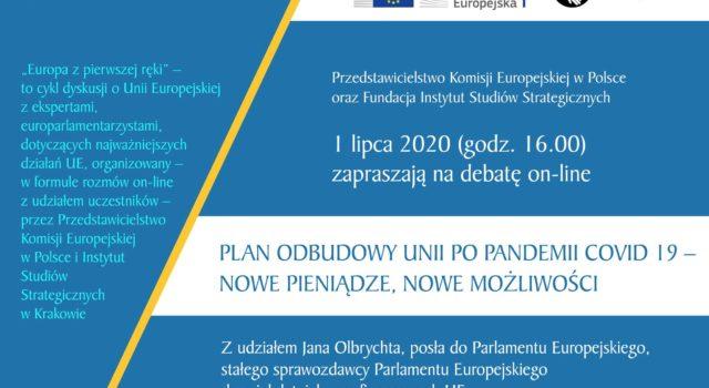 Debata z europosłem Janem Olbrychtem: Unia po pandemii – wideo