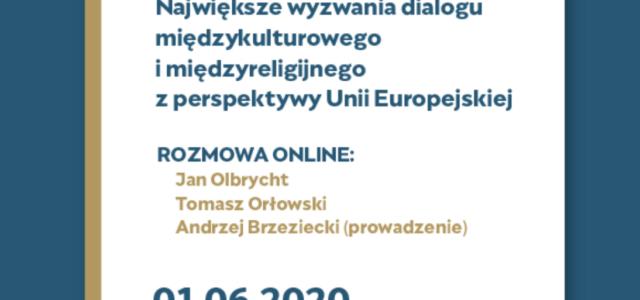 Dialog w UE – Największe wyzwania dialogu międzykulturowego i międzyreligijnego