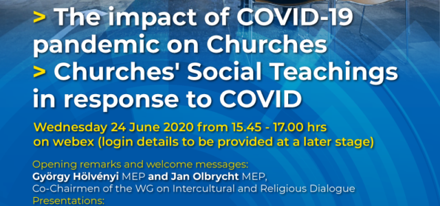 Seminarium online Dialogu: The impact of COVID-19 pandemic on Churches Churches' Social Teachings in response to COVID