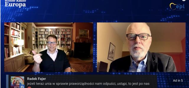 """Jan Olbrycht w """"Wolnym Radiu Europa"""" – rozmowa z Radosławem Sikorskim"""