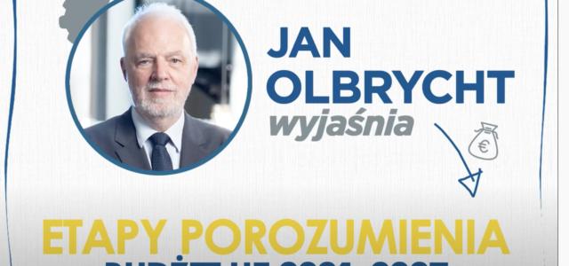 Jan Olbrycht wyjaśnia – Etapy porozumienia budżetu UE 2021 – 2027