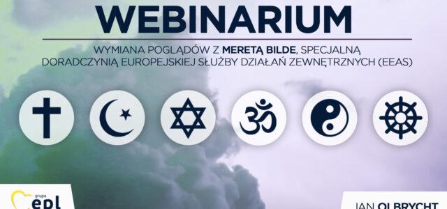 Dialog międzykulturowy i religijny: wymiana poglądów z Maretą Bilde, specjalną doradczynią Europejskiej Służby Działań Zewnętrznych (EEAS)