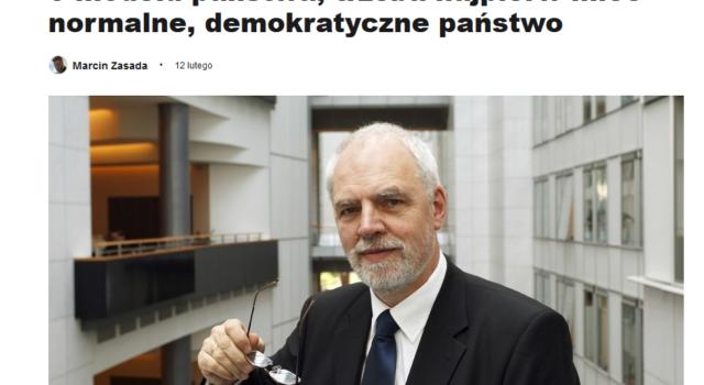 JO dla DZ: Żeby poważnie dyskutować o modelu państwa, trzeba najpierw mieć normalne, demokratyczne państwo